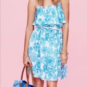 Lilly Pulitzer Sea Urchin For You Flounce Dress